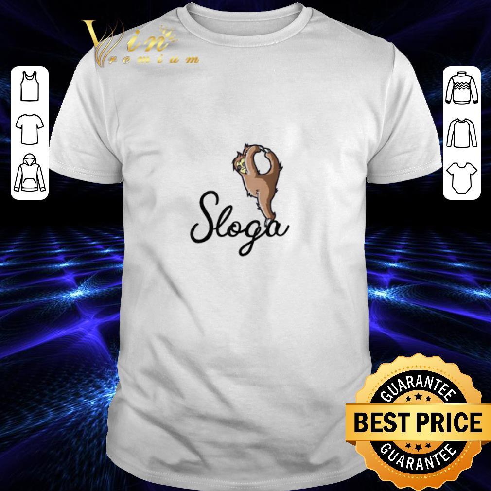 - Sloga Sloth Yoga Workout shirt
