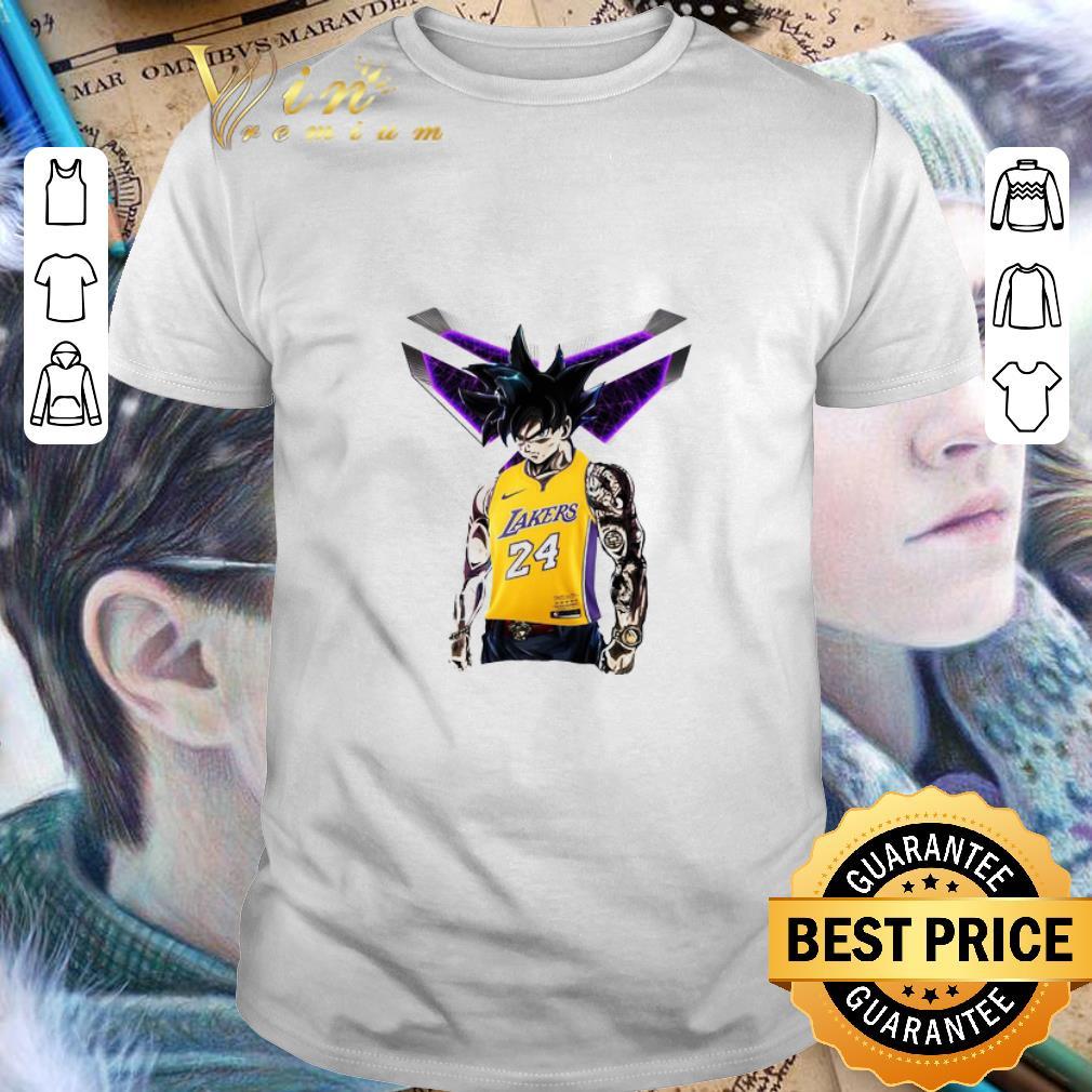 - Songoku Kobe Bryant Logo shirt
