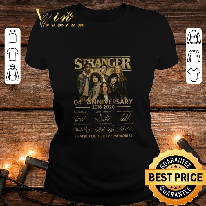 - Stranger Things 04th anniversary Finn Wolfhard Gaten Matarazzo shirt