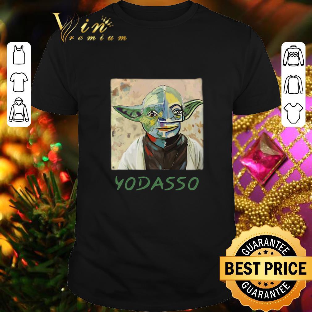 - The Mandalorian Baby Yoda Yodasso art shirt