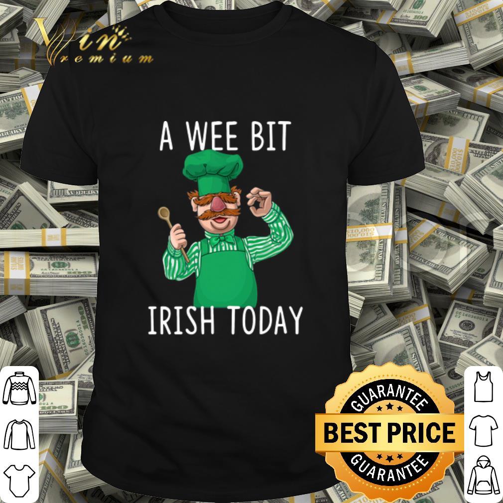 The Muppet Show A Wee Bit Irish Today St. Patrick's day Swedish Chef shirt