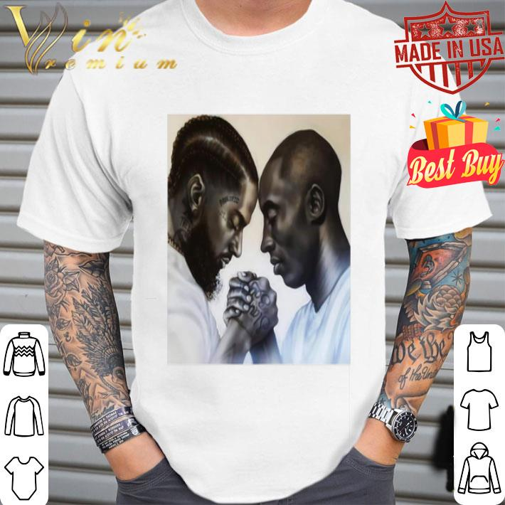 Legends Nipsey Hussle And Kobe Bryant Forever Friends shirt