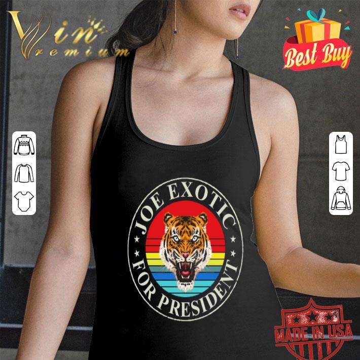 Joe Exotic for President 2020 Vintage shirt