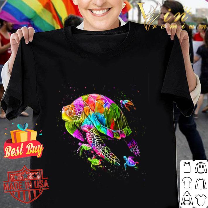 Turtles Colorful shirt