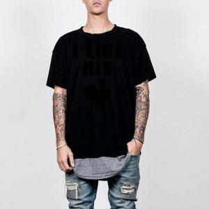 I like his chicken shirt
