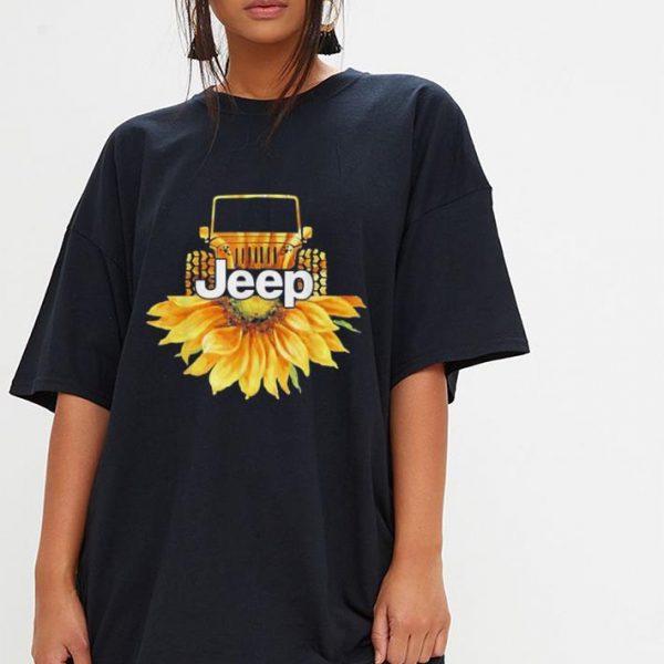 Jeep Drivers Sunflower lovers shirt