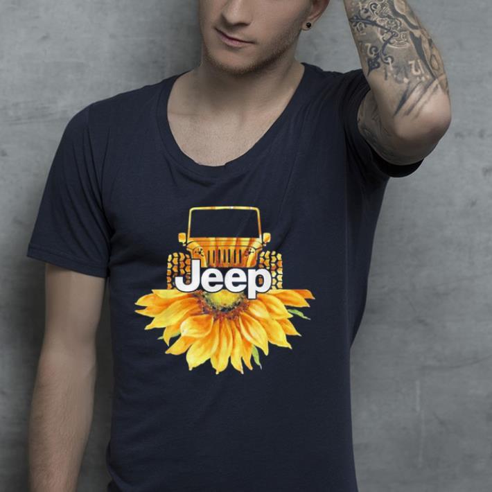 Jeep Drivers Sunflower lovers shirt 4 - Jeep Drivers Sunflower lovers shirt