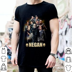 Negan signature The Walking Dead shirt