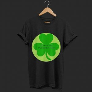 St Patricks Day clover shirt