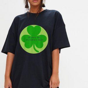 St Patricks Day clover shirt 2
