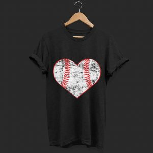 Baseball Heart Softball Mom Sports  shirt