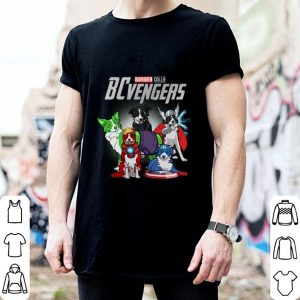 Border Collie BCvengersvengers Marvel Avengers Endgame shirt