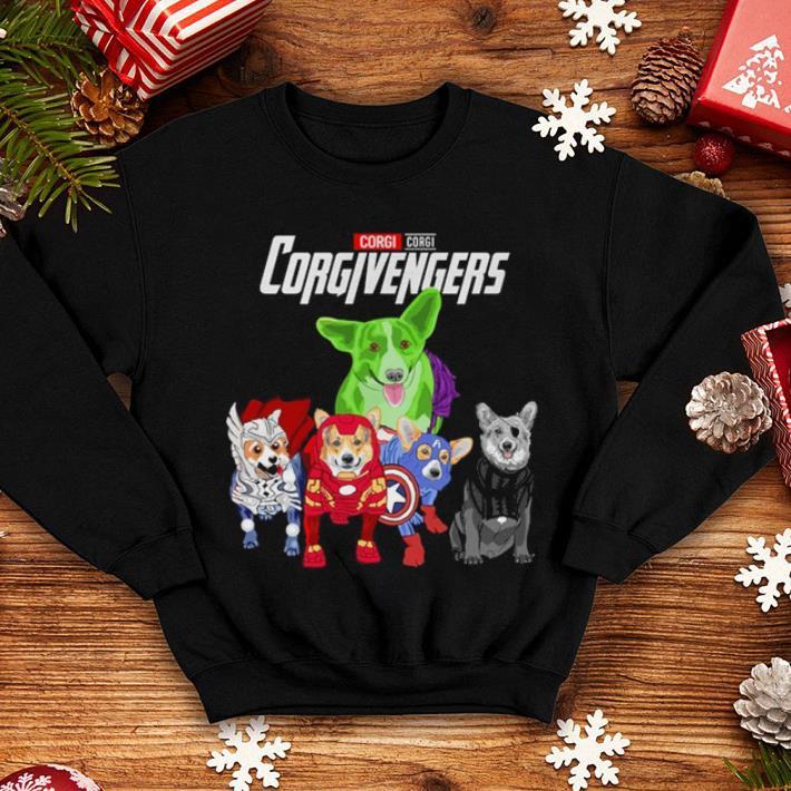 Corgi Corgivengers Avengers Endgame shirt 4 - Corgi Corgivengers Avengers Endgame shirt