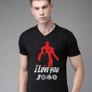 Dad I Love You 3000 Iron man Arc reactor shirt