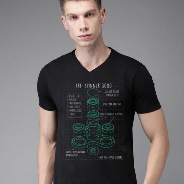 Fidget Tri Spinner 3000 Schematic shirt
