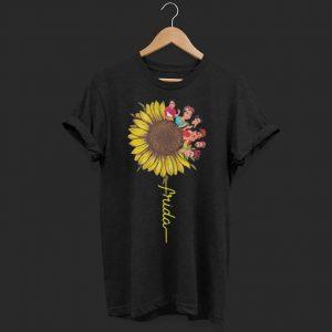 Frida Kahlo sunflower shirt