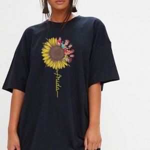 Frida Kahlo sunflower shirt 2