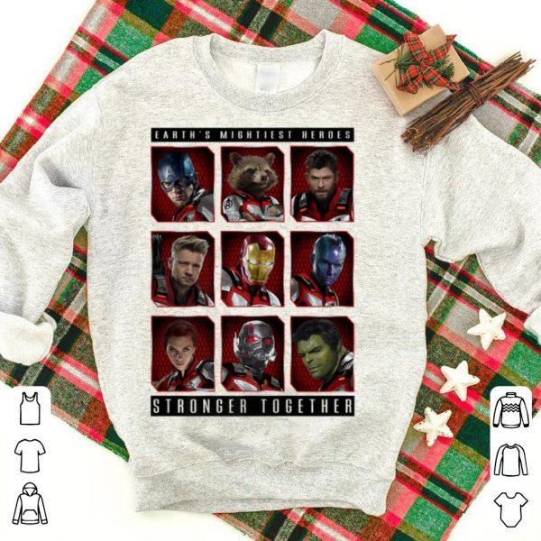 Marvel Avengers Endgame Mightiest Heroes Stack shirt