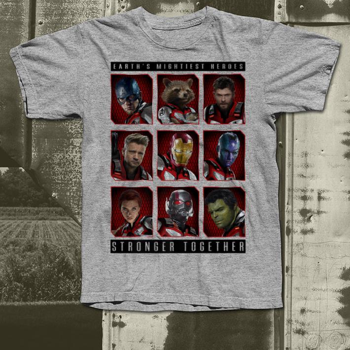 Marvel Avengers Endgame Mightiest Heroes Stack shirt 4 - Marvel Avengers Endgame Mightiest Heroes Stack shirt