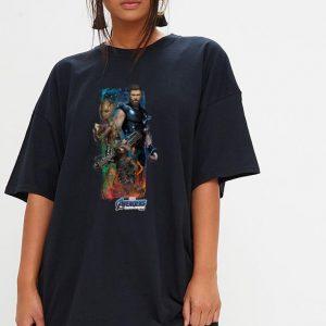Marvel Avengers Endgame Thor, Groot and Rocket Racoon shirt 2