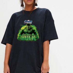 Marvel Avengers Endgame we are a Hulk shirt 2