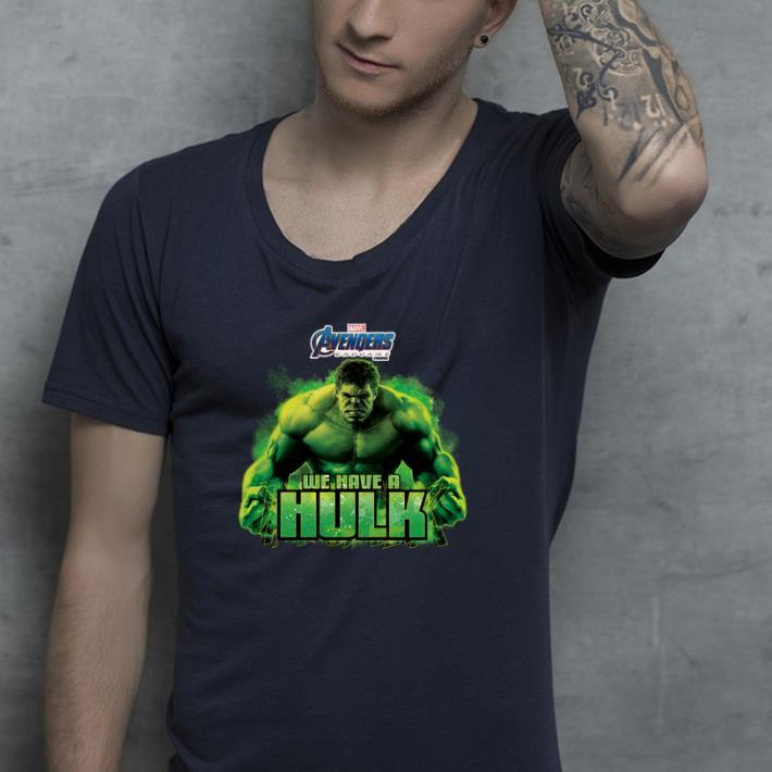 Marvel Avengers Endgame we are a Hulk shirt 4 - Marvel Avengers Endgame we are a Hulk shirt