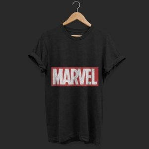 Marvel Classic Distressed Logo shirt