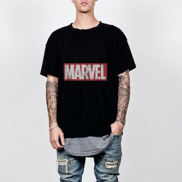 Marvel Classic Distressed Logo shirt