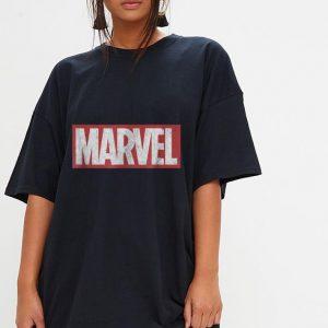 Marvel Classic Distressed Logo shirt 2