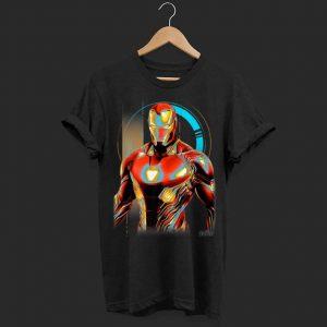 Marvel Infinity War Iron Man Digital Pose shirt