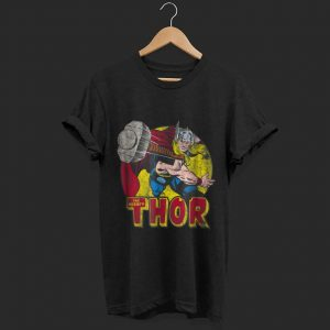 Marvel Mighty Thor Hammer Throw shirt