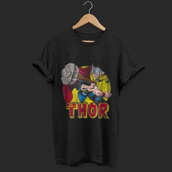 Marvel Mighty Thor Hammer Throw shirt