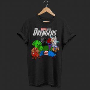 Marvel avenger Dachshund shirt