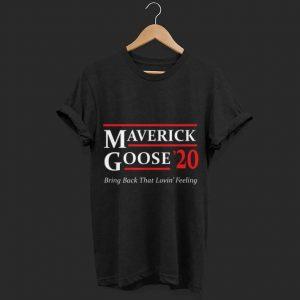 Maverick and Goose 2020 Presidential shirt