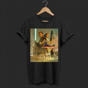 Star Wars Celebration Mural Attack of the Clones shirt