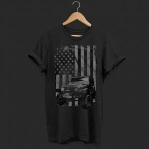 US Flag Jeeps Enthusiast shirt