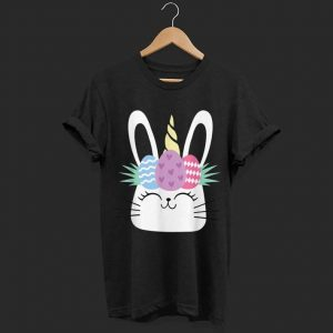 Unicorn Easter Bunny Egg shirt