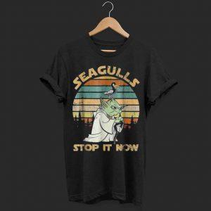 Vintage Seagulls stop it now shirt