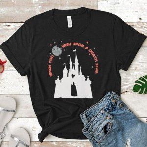 When you wish upon a death star Walt Disney shirt