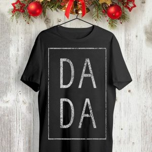Distressed Dada Father's Day shirt