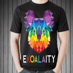 Koala Rainbow Gay Pride shirt