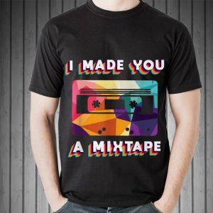 Cassette Vintage Retro 80s 90s I Made You A MixTape shirt
