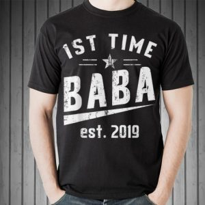 Coming Soon Be First Time Baba Turkish Fathers Day shirt