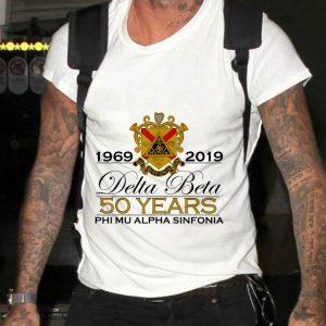 DB Anniversary 50 years Phi Mu Alpha Sinfonia shirt