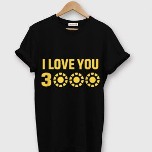 Daughter I Love You 3000 Dad's Day Arc Reactor shirt