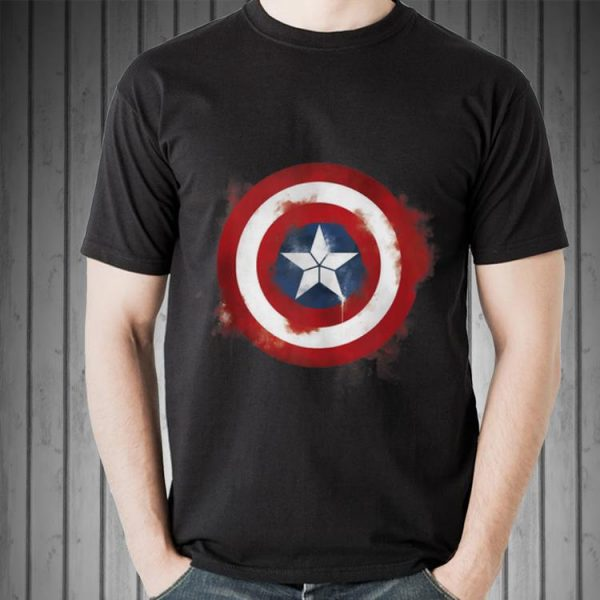 Marvel Avengers Endgame Spray Paint Captain America shirt