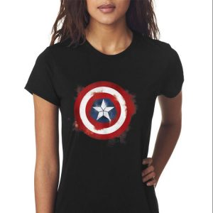Marvel Avengers Endgame Spray Paint Captain America shirt 2