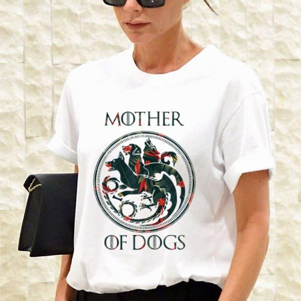 Mother Of Dogs floral shirt