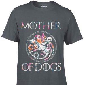Mother of Dogs Floral Flower Game OF Thrones