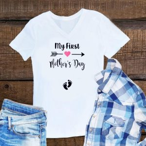 My First Mothers Day Baby Feet shirt